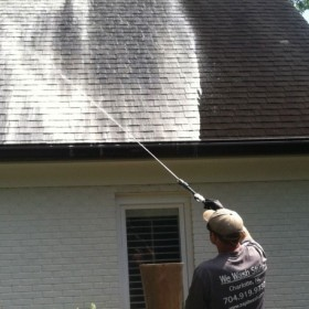 Roof Cleaning!!