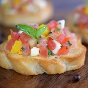 Find Recipe Of Fresh Tomato Bruschetta