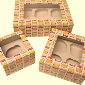Cupcake Boxes - Terrific For Gifts, Favors & For Safe Travel