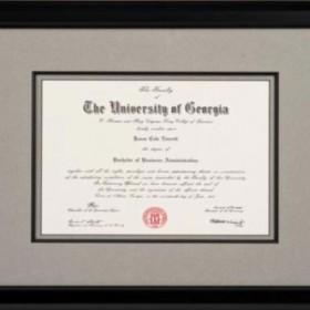 Diploma & Certificate Framing