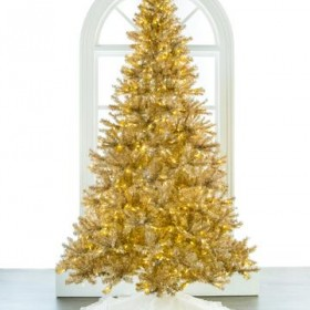 Artificial Red And Gold Christmas Tree For Sale