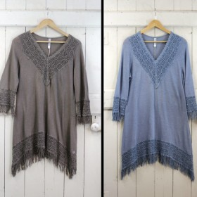 Crochet and Fringe Dress