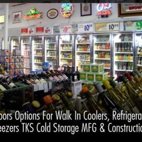 CA Doors Options For Walk In Coolers, Refrigerator & Freezers