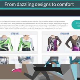 Fashionable Innovative & High Quality Gymnastics Wear