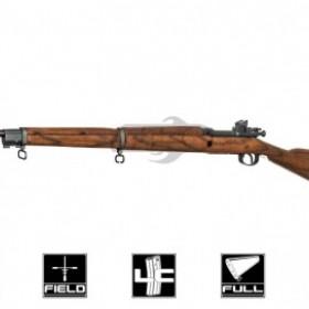 G&G Real Wood Full Metal GM1903 A3 Gas/CO2 Bolt Action Rifle Airsoft Gun