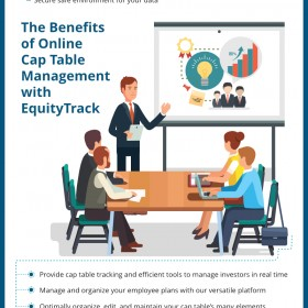 Benefits of Using an Online Cap Table Management Provider like EquityTrack