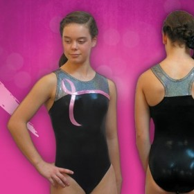 Pink Ribbon Racerback Leotard For Your Cause