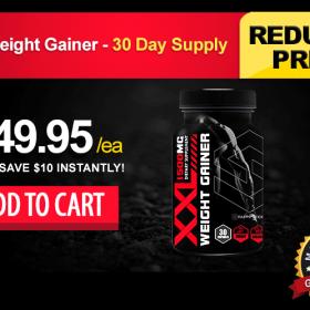 XXL Weight Gainer - 30 Day Supply