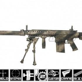 Airsoft GI Custom SR-25 Unseen AEG Airsoft Gun