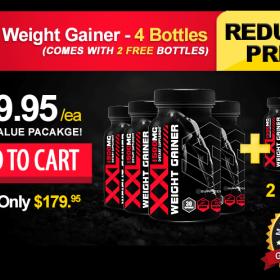 XXL Weight Gainer - 4 Bottles