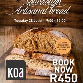 Sourdough Artisanal Bread - Koa Culinary Studio Workshop