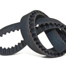 Custom-designed 3D printer timing belts