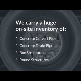 Premier Concrete Pipe and Precast Supplier to the Southeast US - Foley Products Company