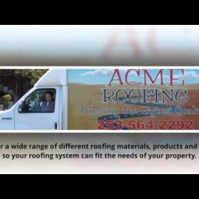 Experienced Roofing Contractors in Tacoma & Puyallup WA
