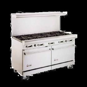 Restaurant Equipment 10 Burner Range