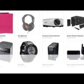 Online Shopping for Electronics - Birds Eye Blue