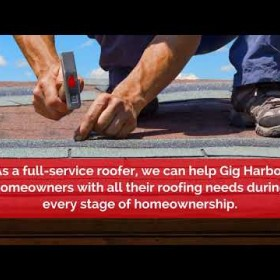 Roofing Company in Gig Harbor WA