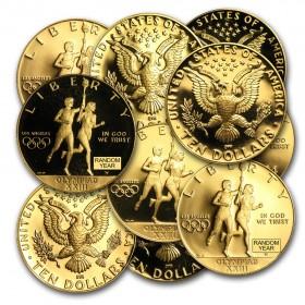 Gold U.S. B.U. Proof Coin