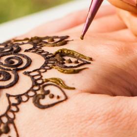 Temporary Henna Tattoos in St. Johns FL