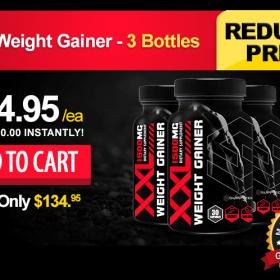 XXL Weight Gainer - 3 Bottles