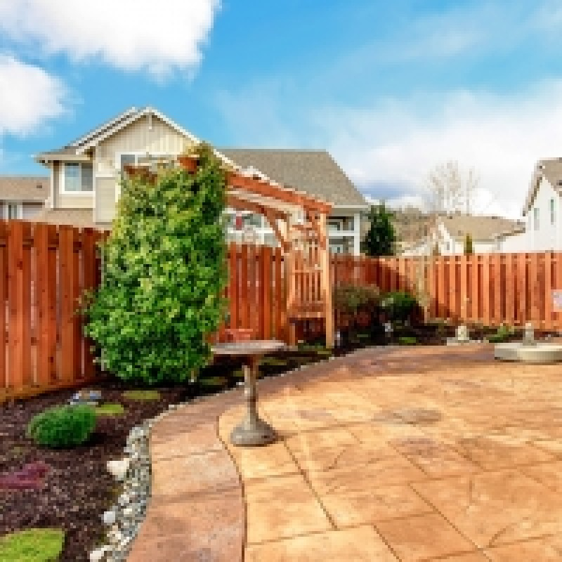 Wood Fence For Residential Homes