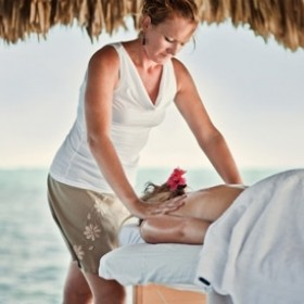 Beach Side Massage For Relaxation