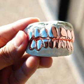 Mouth Vampire Gold Grills & Men's Bottom Teeth Grills