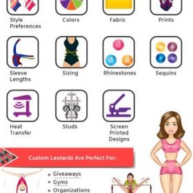 Custom made Gymnastic Leotards - Garland Activewear