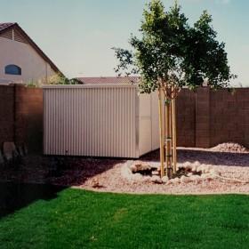 Customizable Backyard Aluminum Shed in Phoenix AZ