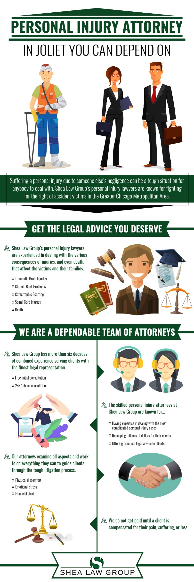 Personal Injury Attorney in Joliet You Can Depend On - Shea Law Group